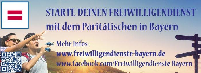 Anzeige von Bundesfreiwilligendienste Bayern