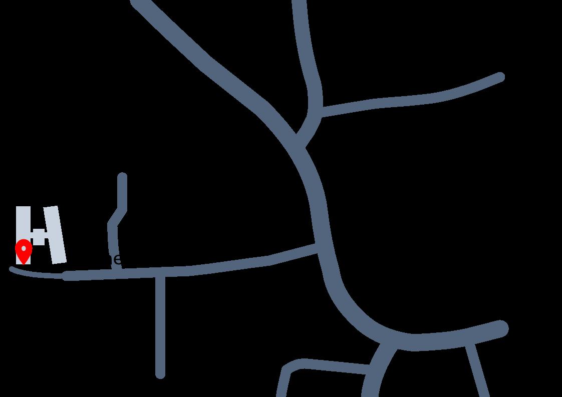 Anfahrtsskizze Büchenbach