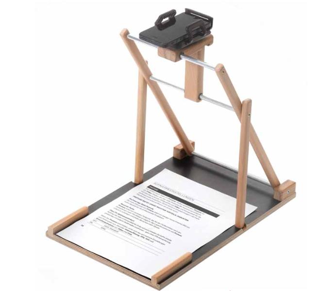 Hilfsmittel zum Vereinfachen des Einlesens von Dokumenten mit dem Smartphone