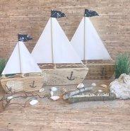 Segelboot Pirat groß -